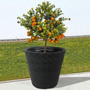 Blumentopf Matuba 48x45,5cm Anthrazit