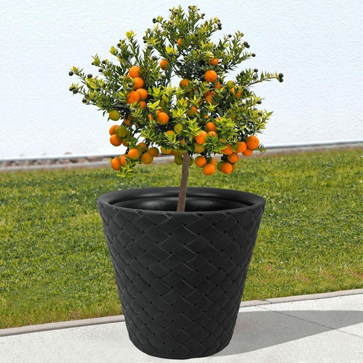 Bild 1 von Blumentopf Matuba 48x45,5cm Anthrazit