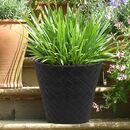 Bild 1 von Blumentopf Matuba 35,5x32,5cm Anthrazit