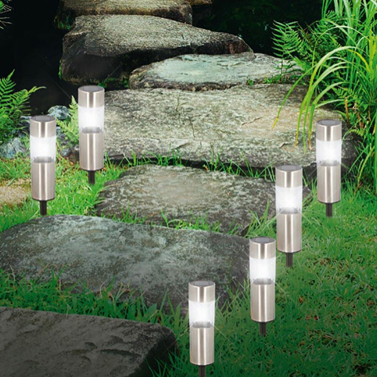 Bild 3 von Grundig LED-Solar-Gartenleuchten 6er-Set