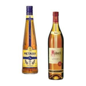 Asbach Uralt Weinbrand oder Metaxa 5 Sterne Classic