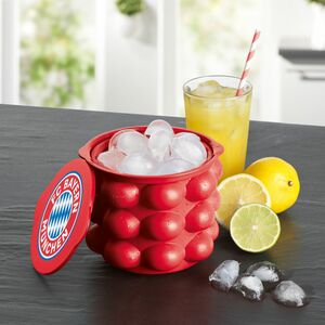 FCB Eiswürfelbehälter 3in1 rot