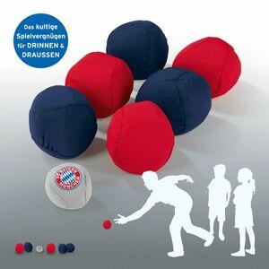 FCB Soft-Boule Set 7-tlg. blau/rot/grau