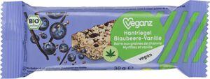 Bio Veganz Hanfriegel Blaubeere-Vanille, 30 g