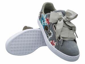 Puma Damen Sneaker Basket Heart Hyper Embroidery