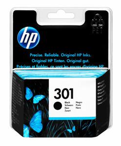 HP 301 Druckerpatrone, Schwarz