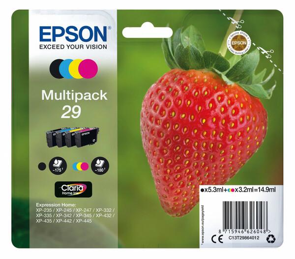 Epson T2986 Druckerpatronen, Schwarz & Farbe