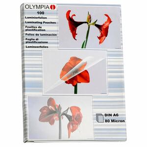 Olympia Laminierfolien, DIN A6