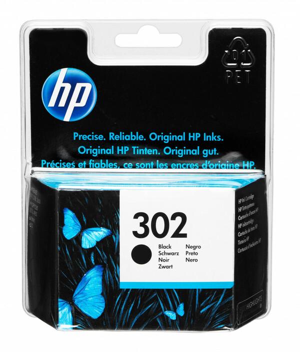 HP 302 Druckerpatrone, Schwarz