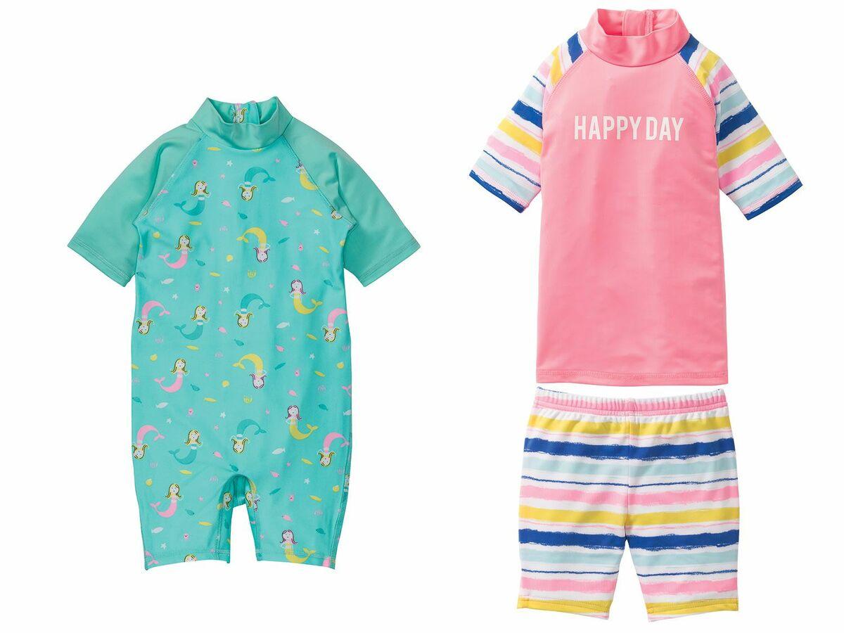 Bild 1 von LUPILU® Kleinkinder Mädchen Schwimmanzug/ Set