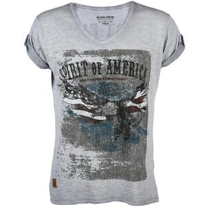 Herren T-Shirt mit V-Neck