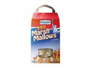BBQ Marshmallows mit Sticks