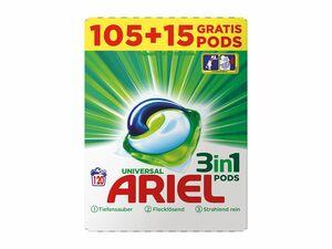 Ariel 3in1 Pods 120 Wäschen