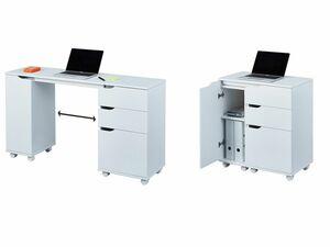 Inter Link Home Office - Stauraum-Schreibtisch / -Kommode