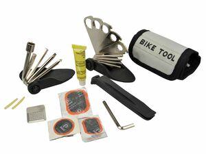 FISCHER  Faltwerkzeug Tasche und Flickzeug 33tlg