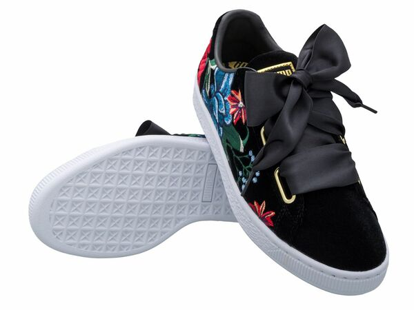 finest selection 9d549 2da84 Puma Damen Sneaker Basket Heart Hyper Embroidery