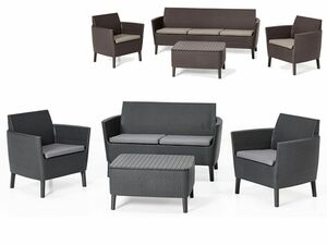 Allibert Lounge Set Salemo 4-tlg.
