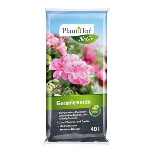 Plantiflor              Geranienerde, 40 L