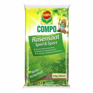 Compo              Rasensaat Spiel & Sport 5 kg für 250 m²