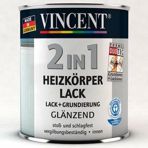 Vincent              2in1 Heizkörperlack hochglänzend 375 ml