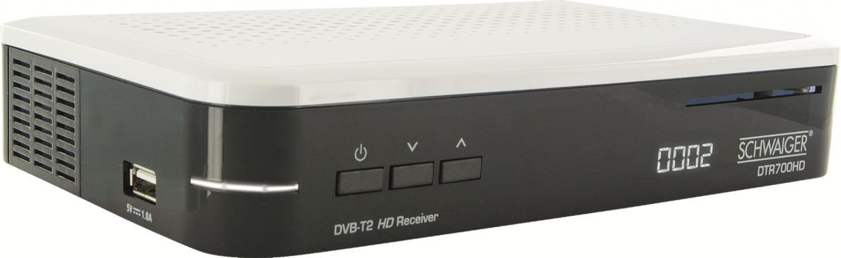 Bild 1 von Schwaiger DVB-T2 HD Receiver