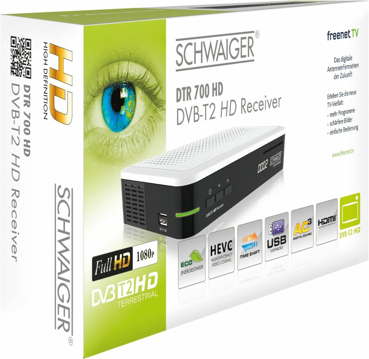 Bild 5 von Schwaiger DVB-T2 HD Receiver