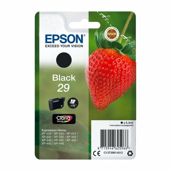 Epson Druckerpatrone  T2981, schwarz