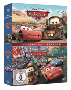 DVD Cars 1 & Cars 2, Doppelpack