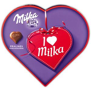 Milka I love Milka Geschenkherz