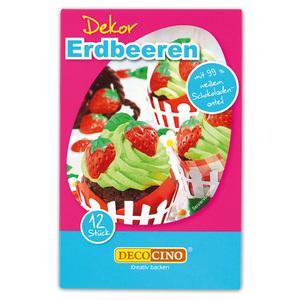 Dekoback-Decocino Dekor Erdbeeren