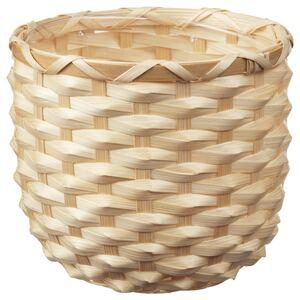 KAFFEBÖNA                                Übertopf, Bambus, 12 cm