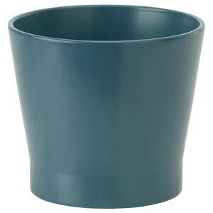 PAPAJA                                Übertopf, dunkelblau, 12 cm