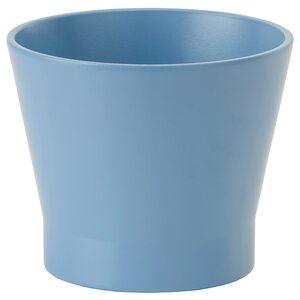 PAPAJA                                Übertopf, blau, 9 cm