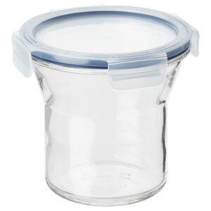 IKEA 365+                                Dose mit Deckel, Glas, Kunststoff, 1.0 l