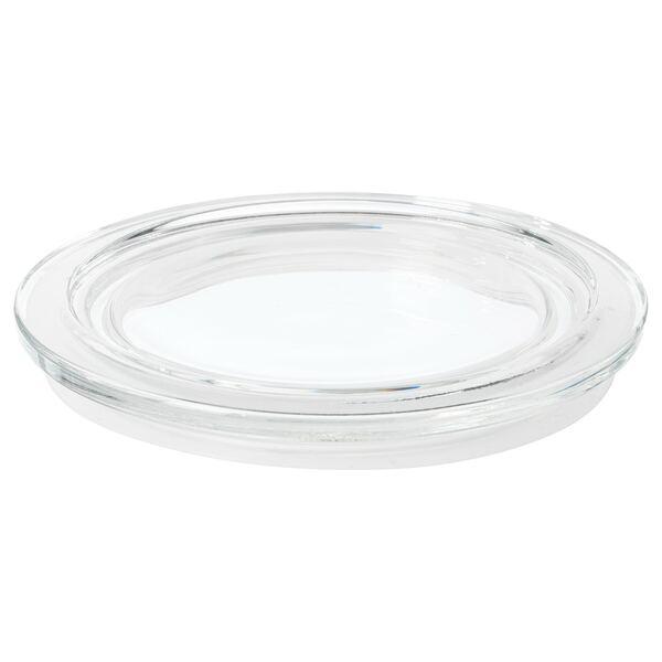 IKEA 365+                                Deckel, rund, Glas