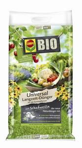 Bio Universal Langzeit Dünger mit Schafwolle Compo