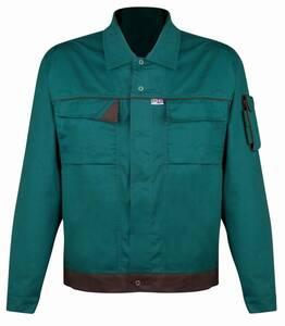 Bundjacke für Beruf und Hobby, Farbe grün/braun