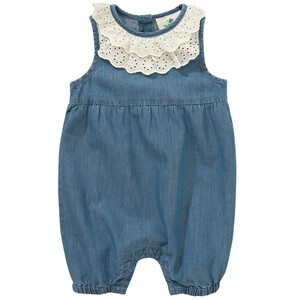 Newborn Overall in Denim-Optik