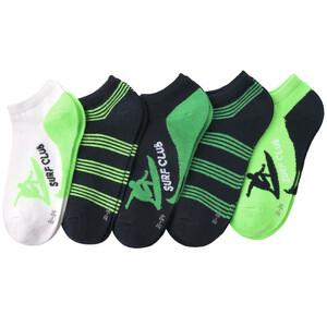 5 Paar Jungen Sneaker-Socken im Set