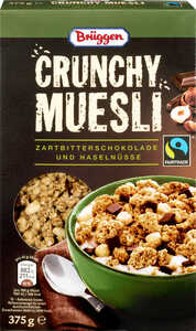 BRÜGGEN  Fairtrade Crunchy Müsli