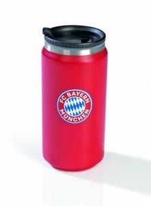 FC Bayern München Thermobecher ,  Darin bleibt Heißes heiß und Kaltes kalt!