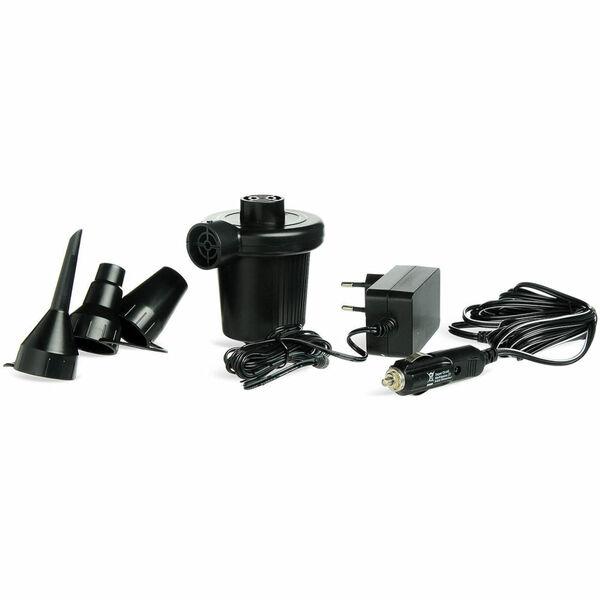 Elektrische Luftpumpe, schwarz