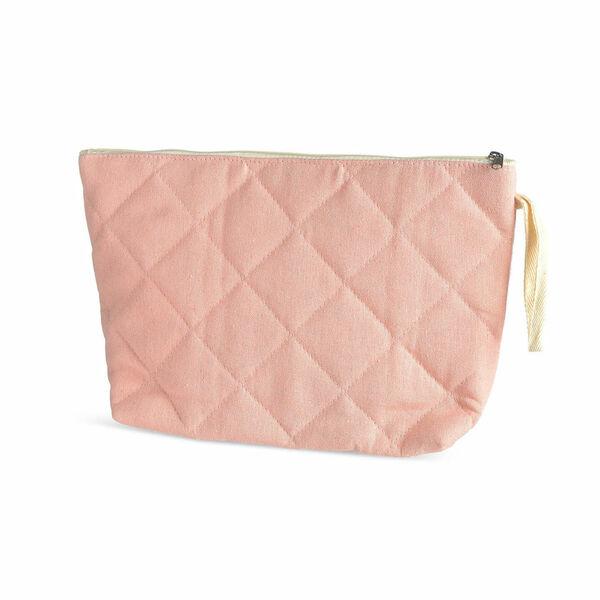 Kosmetiktasche COZY, 33x8x20cm, rosa