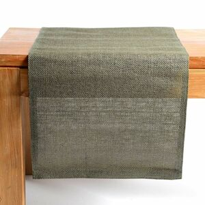 Tischläufer Uni, B:40cm x L:150cm, olivgrün