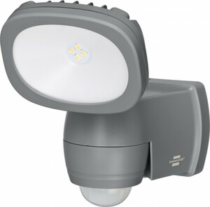 Brennenstuhl LED Strahler LUFOS ,  210 lm, IP44, mit Batterie und Bewegungsmelder