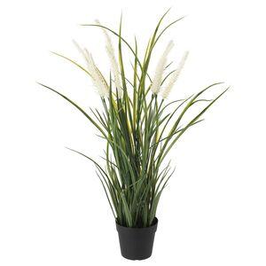 FEJKA                                Topfpflanze, künstlich, drinnen/draußen Dekoration, Gras, 9 cm