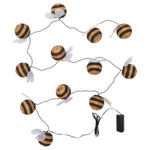 SOLVINDEN                                Lichterkette (12), LED, batteriebetrieben, für draußen Hummel
