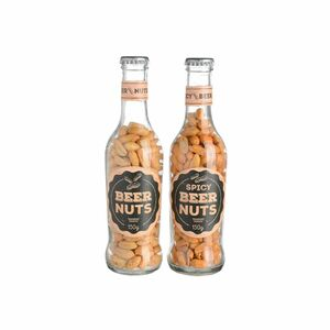 Erdnüsse in Flasche, 150g, bunt (Variante nicht frei wählbar)