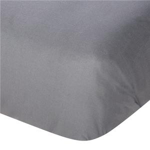 Linon-Bettlaken (150x250, anthrazit)