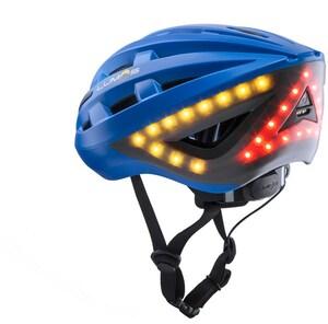 Lumos Kickstart Fahrradhelm cobalt blue